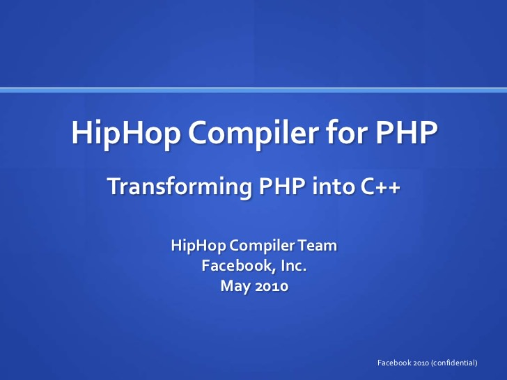 hiphop for php   Facebook là gì?   là gì facebook    facebook marketing