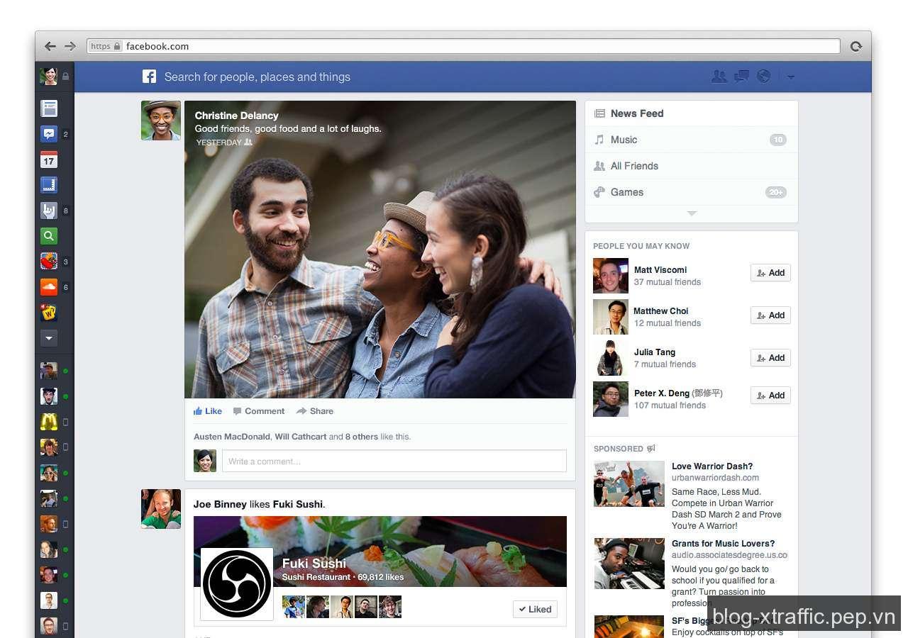 Facebook thay đổi thuật toán EdgeRank phức tạp hơn - EdgeRank facebook Facebook Ranking News Feed Thuật toán EdgeRank - Facebook Marketing