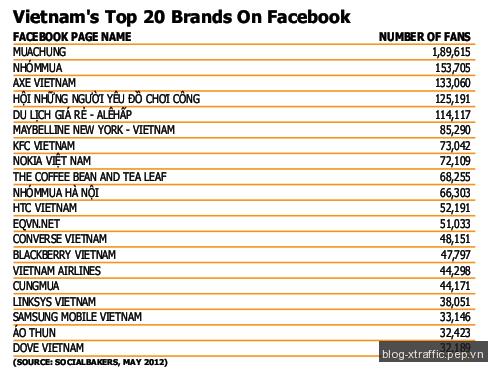 Thống kê mới nhất về thị trường trực tuyến Việt Nam năm 2013 - digital marketing quảng cáo trực tuyến thị trường trực tuyến Thống kê - Digital Marketing