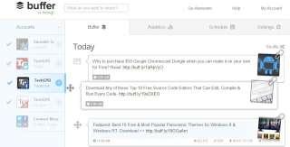 Buffer App : công cụ tự động hoá tiếp thị truyền thông mạng xã hội - Buffer Buffer App mạng xã hội - Social Media Marketing