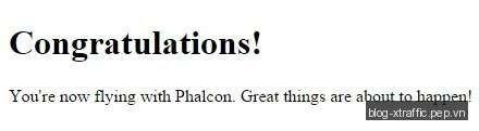 Tạo và benchmark Hello World Phalcon PHP Framework - Benchmark Hello World Phalcon Phalcon PHP Framework PHP PHP Framework - Phát triển website