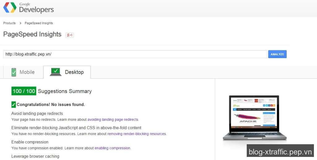 Cách cải thiện để đạt điểm cao trên Google PageSpeed Insights - google PageSpeed - Phát triển website