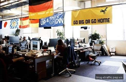 Toàn cảnh nơi làm việc của Facebook - facebook - Tin khác