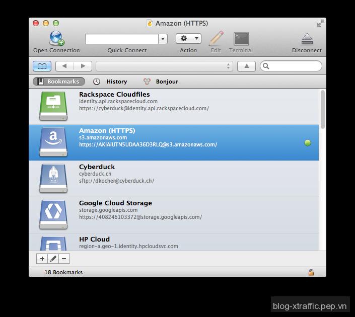 Những chương trình FTP Clients tốt nhất cho Webmasters - Cyberduck FileZilla FireFTP free FTP Clients Open Source Transmit Webmasters WinSCP - Webmasters Tools