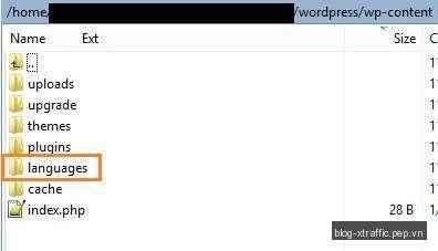 WordPress Cơ Bản : Cách Việt hoá WordPress - Việt hoá WordPress Cơ Bản - Wordpress
