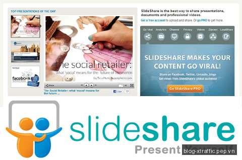 Slide Marketing- Phương tiện hấp dẫn để quảng bá doanh nghiệp - facebook Linkedin Powerpoint Slide Share tối ưu hoá công cụ tìm kiếm Twitter - Social Media Marketing Tin khác