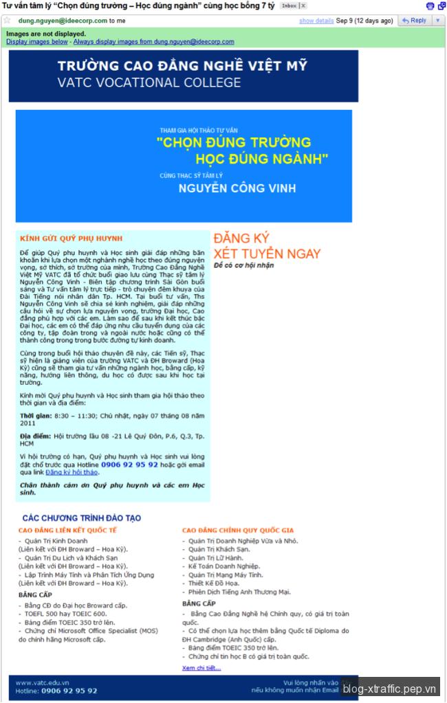 Email Marketing : Những điều cần lưu ý trong thiết kế email - dịch vụ cung cấp email dịch vụ email email marketing từ chối nhận email unsubcribe - Digital Marketing