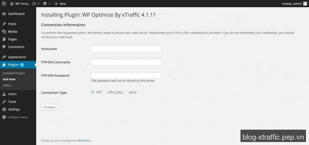 Cách sửa lỗi yêu cầu cài đặt Plugin WordPress bằng FTP - FTP WordPress WordPress Plugin - Wordpress