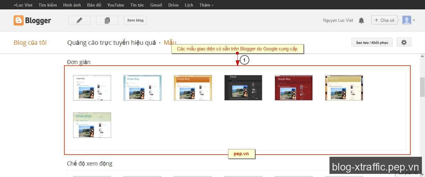 Hướng dẫn đăng ký và sử dụng Blogspot (Blogger) - blogger blogspot - Blogger (Blogspot)