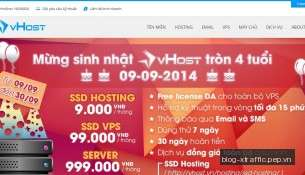 vHost.vn Homepage