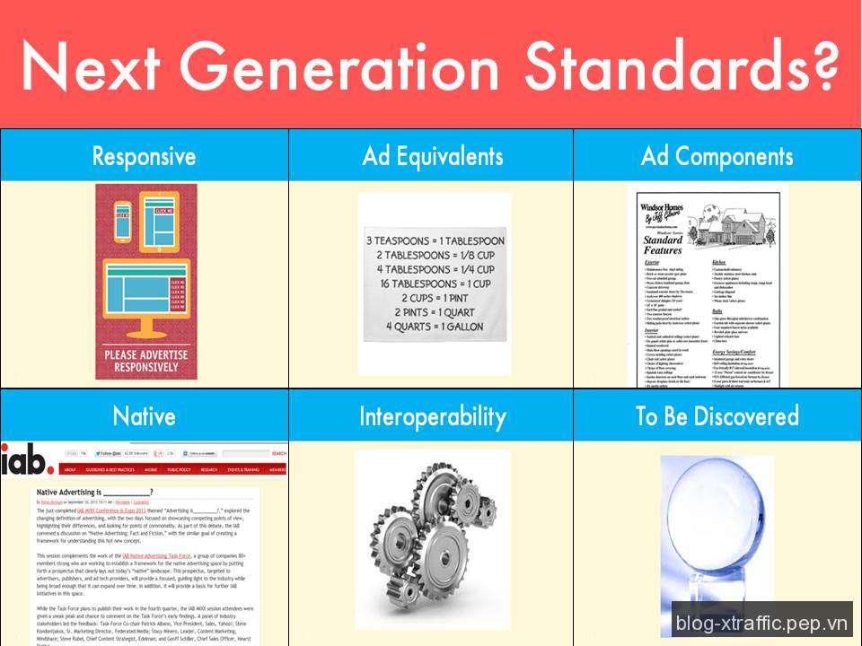 Các tiêu chuẩn quảng cáo được mong đợi trong thế hệ tiếp theo - IAB tiêu chuẩn quảng cáo - Digital Marketing