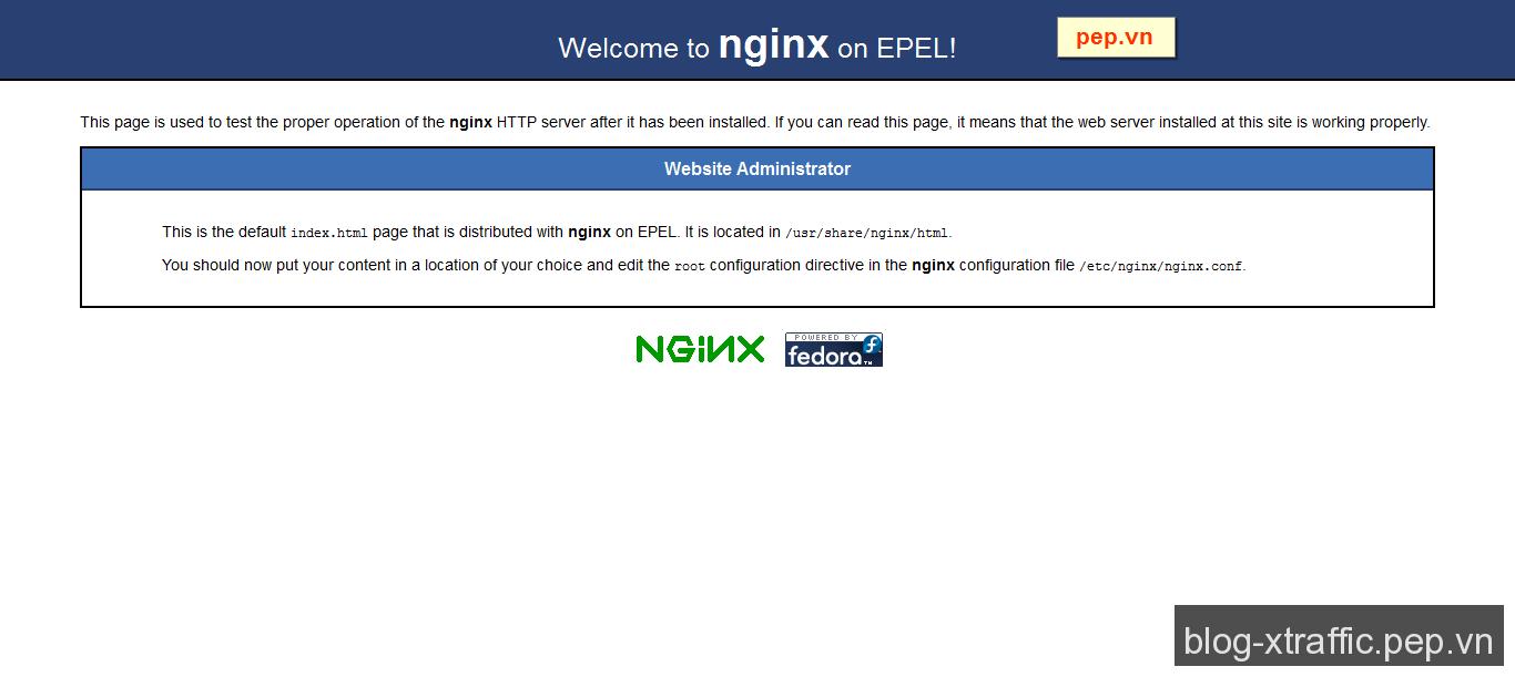Hướng dẫn cách cài đặt Nginx trên CentOS - CentOS nginx - Hosting