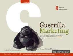 Guerrilla marketing – tiếp thị theo kiểu du kích - guerrilla marketing marketing tiếp thị du kích - Marketing
