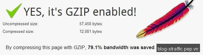 Enable Gzip Compression Apache - Apache gzip htaccess httpd - Phát triển website
