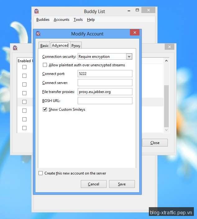 Pidgin : Phần mềm chat sử dụng nhiều dịch vụ cùng lúc - pidgin - Tin khác