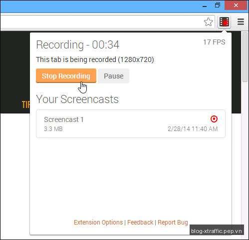 Quay video màn hình đơn giản trên trình duyệt Chrome với Screencastify - chrome screencastify - Tin khác