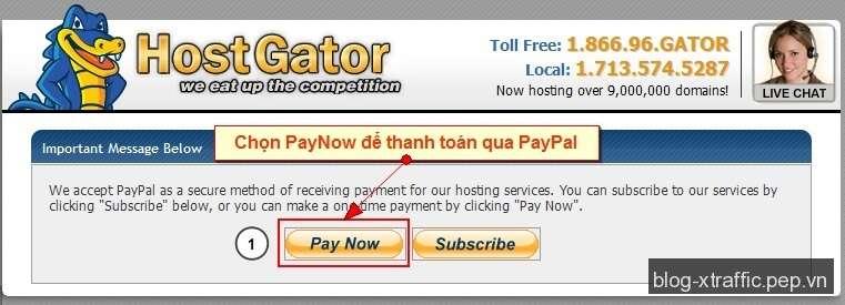 Hướng dẫn cách đăng ký và tạo web hosting HostGator - HostGator shared hosting web hosting - Hosting